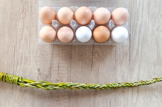 skorupki jajek